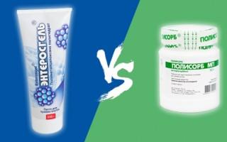 Лечение «Полисорбом» или «Энтеросгелем»: что лучше для организма?