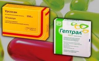 Что лучше – Гептрал или Урсосан, и как правильно принимать лекарства