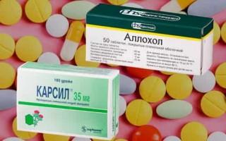 Что лучше – Карсил или Аллохол в терапии болезней печени и желчевыводящих потоков