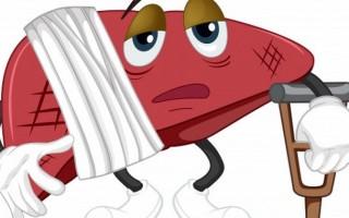 Причины и признаки дисфункции печени