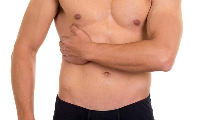 Если боли справа под ребрами, под грудью, это может говорить и о проблемах с сердцем.
