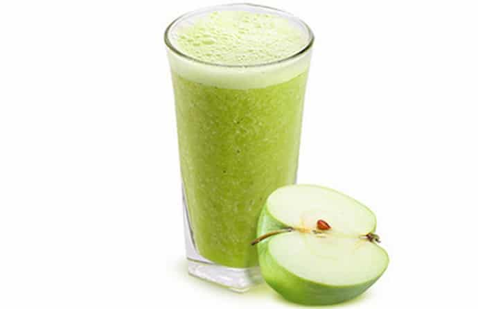 яблочный сок для очистки печени