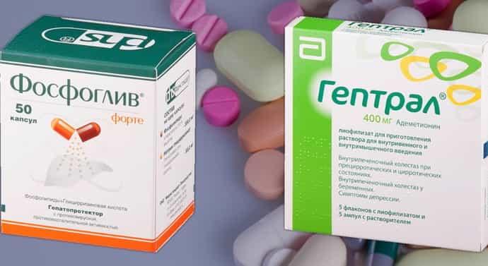 Уникальное гепатопротекторное лекарство Фосфоглив