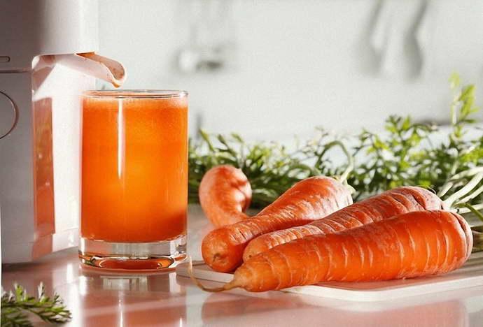 Правила употребления морковного сока