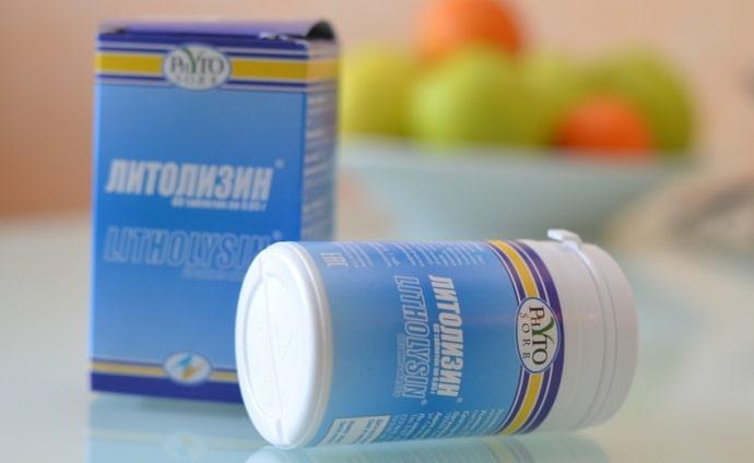 Литолизин это еще один растительный препарат.