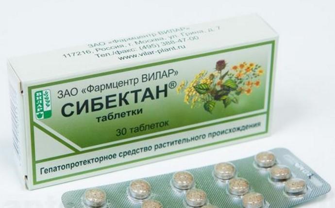Еще один популярный растительный препарат это Сибектан.