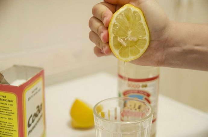 сода с лимоном для печени как употреблять